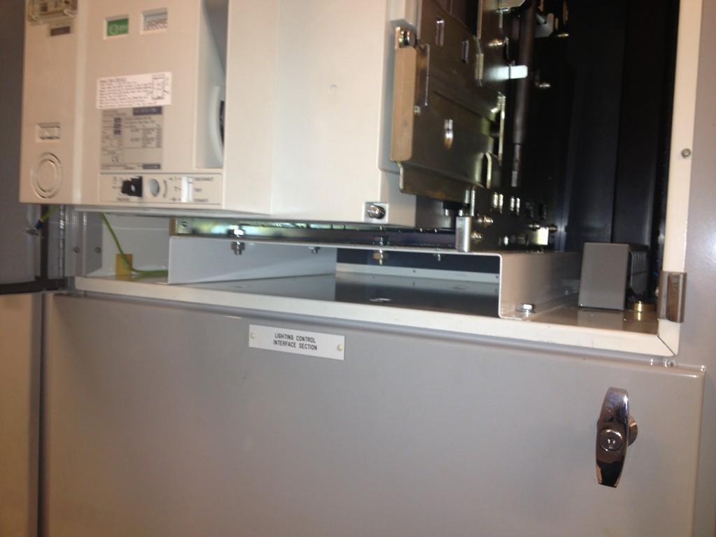 Mitsubishi AE-SW plinth air circuit breaker upgrade