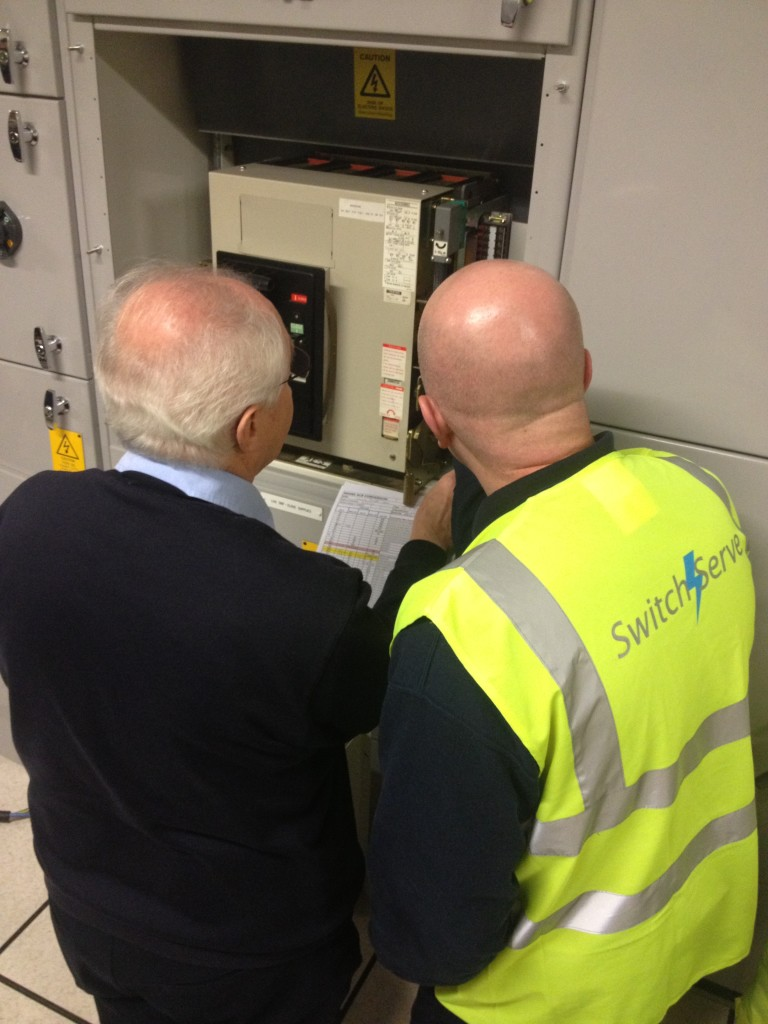 Switchserve technical discussion air circuit breaker upgrade