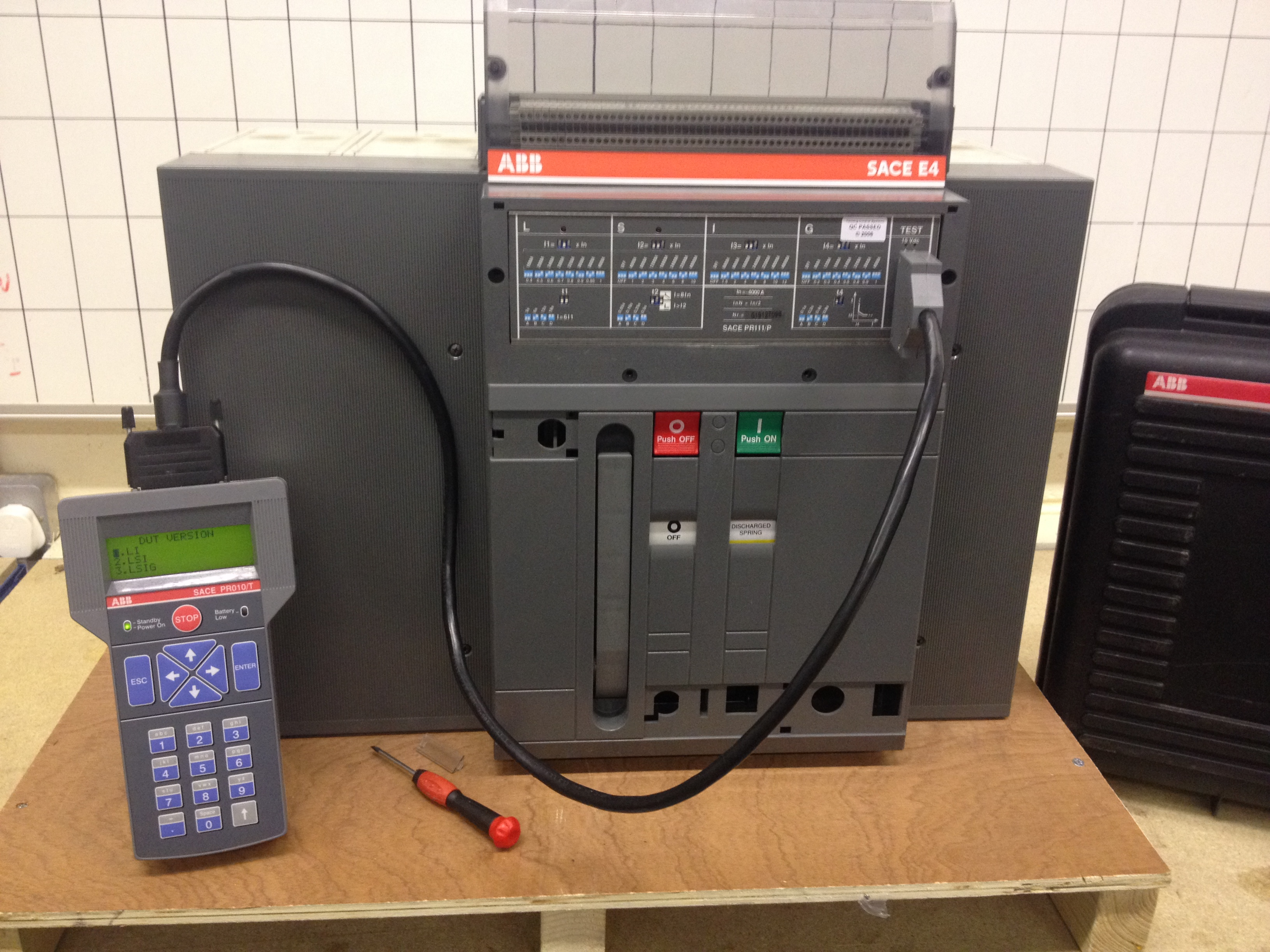 Secondary Injection Testing Switchserve Electrical Relay Kit Photo 16 10 2013 46 56